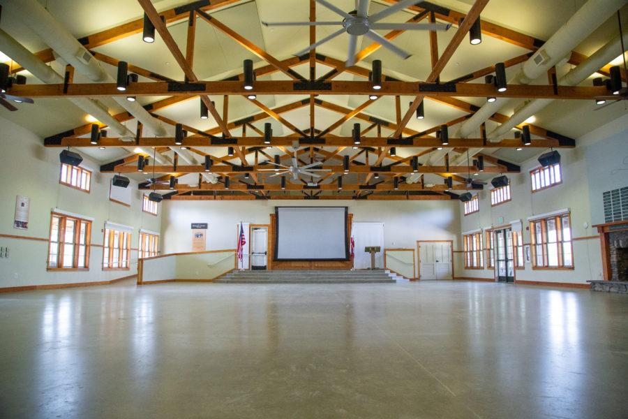 Empty Dining Hall