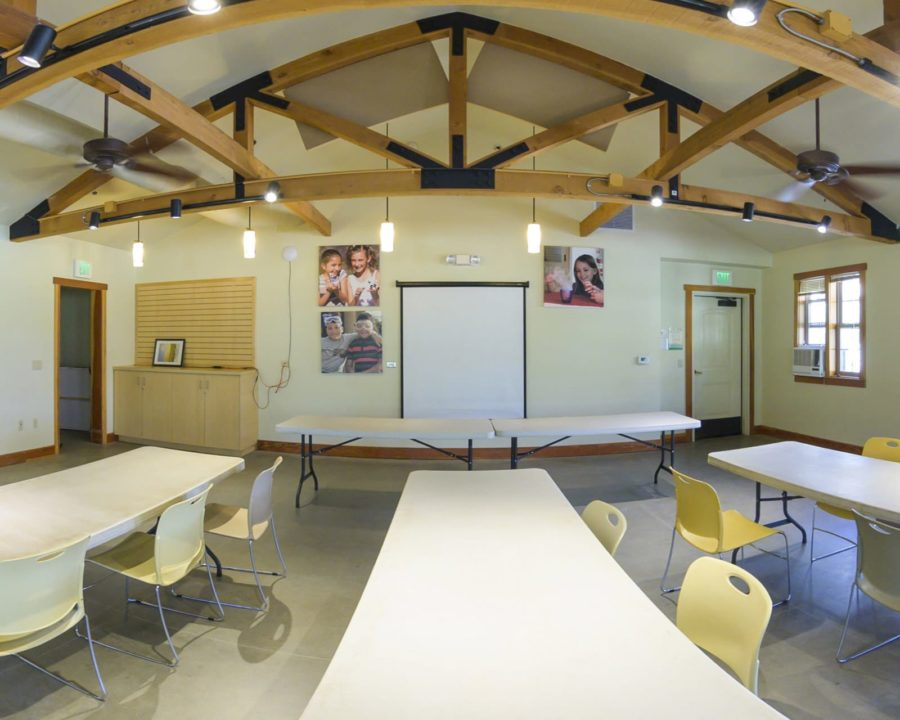 Interior of the Exploring Post facility at Irvine Ranch