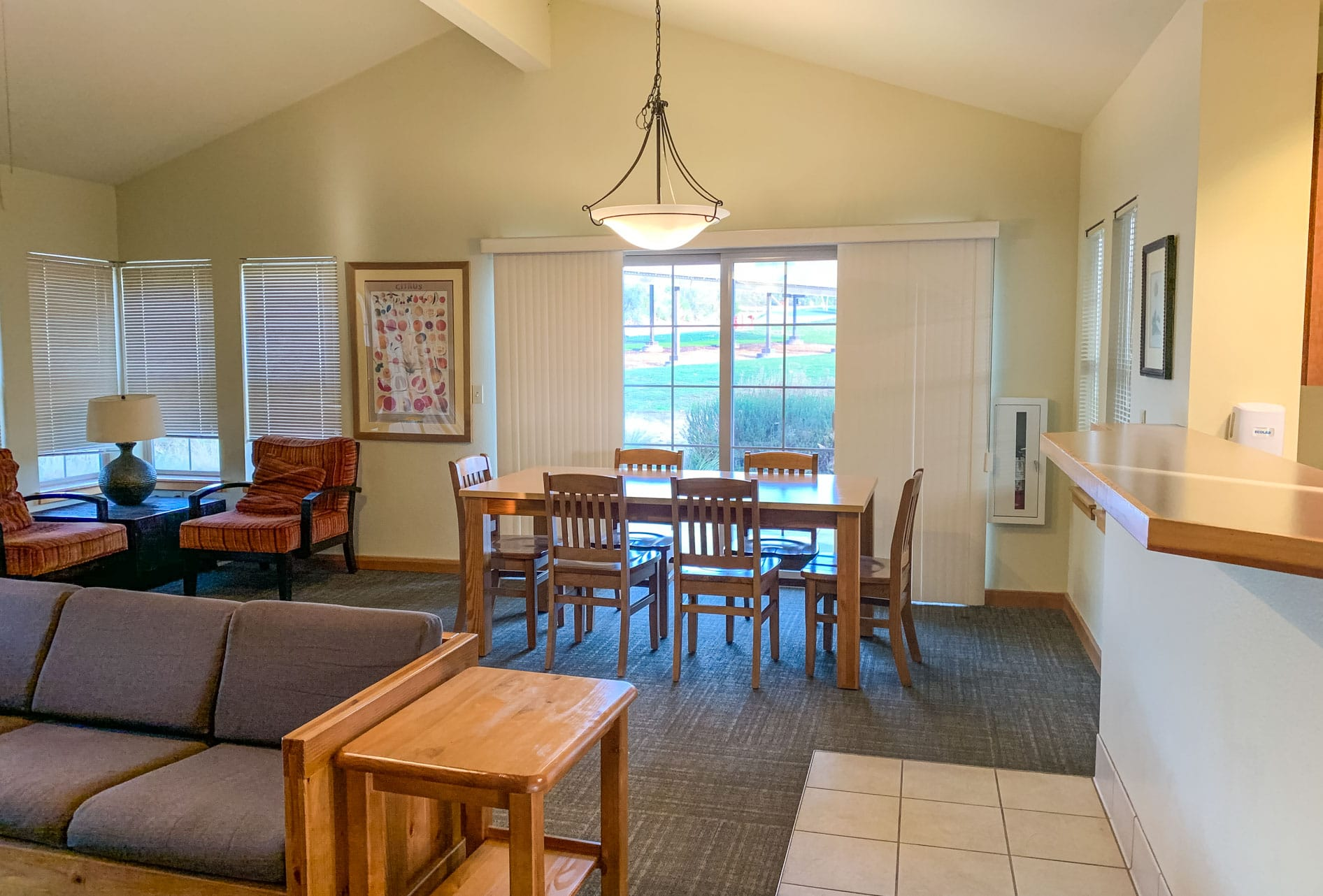 Dining room of Bungalow lodging area